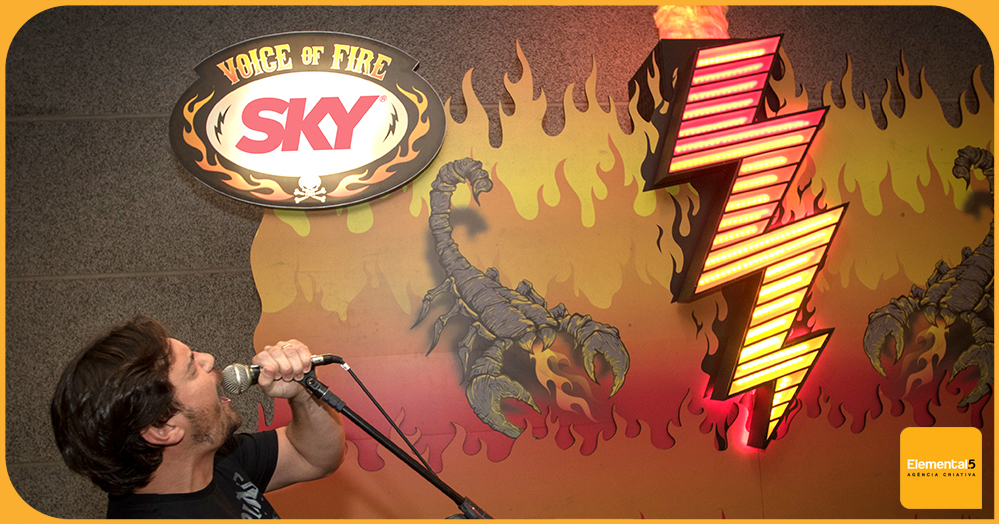 Soltando a voz com a SKY nos shows dos Scorpions.