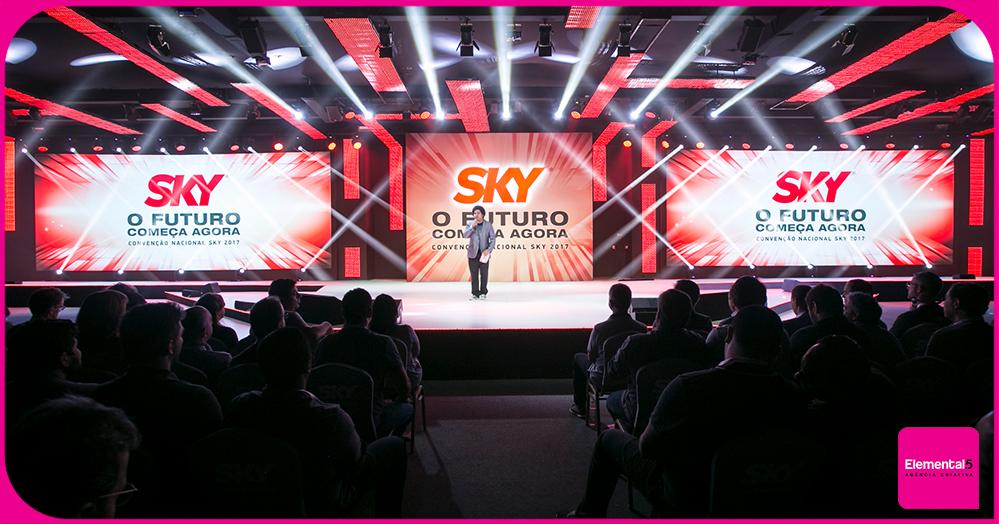 Para a SKY, o futuro já começou com a Convenção Nacional 2017.